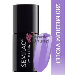 Oja UV Semilac 280 Pastell Medium Violet 7 ml